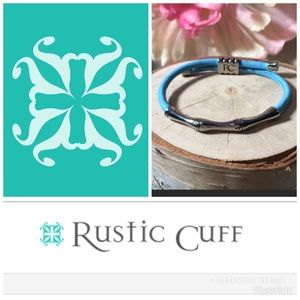 Rustic Cuff Chrissy Bracelet RARE iCandy Blue for sale